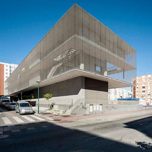 Biblioteca municipal Málaga